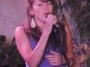 C\'est la première fois qu\'elle chante en public