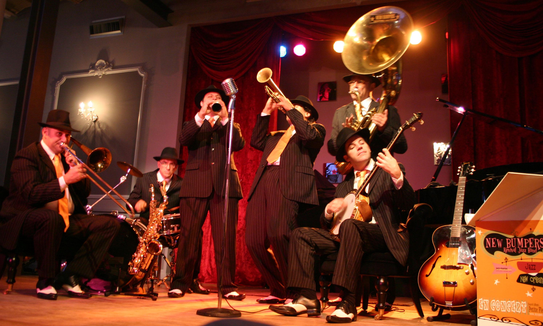 Le New Bumpers Revival Jazz Band Pour L Dition 2010 Cruis En Jazz