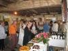 Un buffet préparé par les artistes et l\'association l\'AVEN
