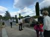 Shrek accueille le public enfants pour choisir s'ils appartiendront au camp des cochons ou du loup !