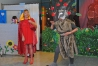 Le petit chaperon rouge (de la Chaperon Rouge Sécurité - CRS) venu au secours de cochon n°3