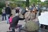L'âne Doudou a eu un franc succès parmi les enfants.