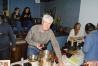 Patrick, vice-président et Betty secrétaire de l'AVEN