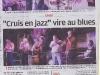 Festival - Article paru dans La Provence le 10 aout.