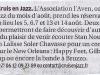 Cruis en Jazz - Annonce La Provence du 1er juin par A. BESSAC