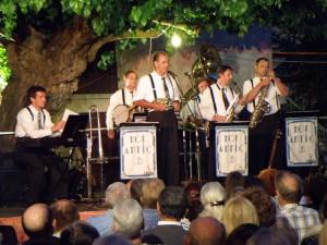 Hot Antic Jazz Band à Cruis en 2009