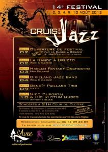 """14ème festival """"Cruis en Jazz"""""""