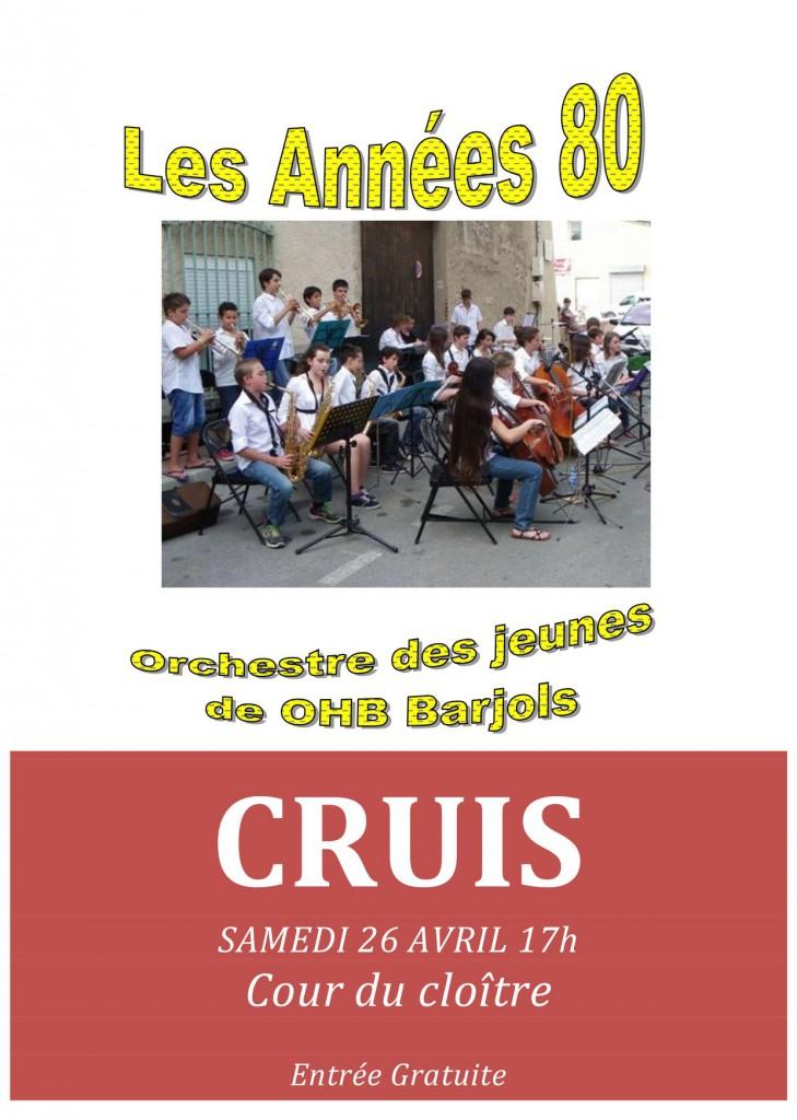 Concert Barjols