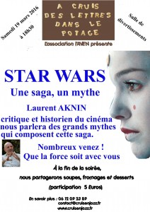 Affiche Star wars WEB