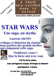 Affiche Star wars WEB